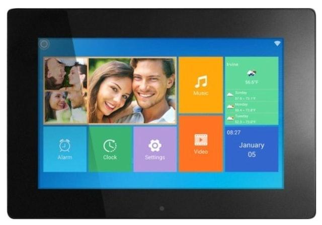 Aluratek 10-Inch Widescreen LCD Wi-Fi Digital Photo Frame 1