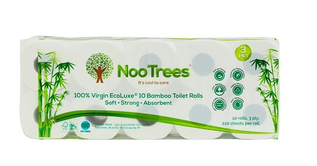 NooTrees Bamboo 3-Ply Bathroom Tissue 1