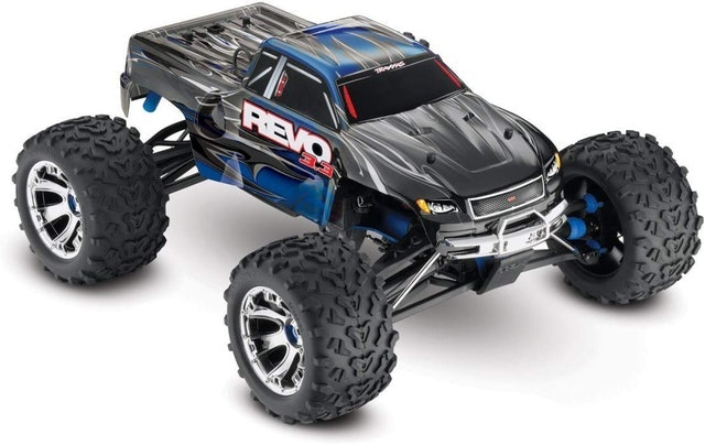 Traxxas Revo Nitro-powered Monster Truck 1