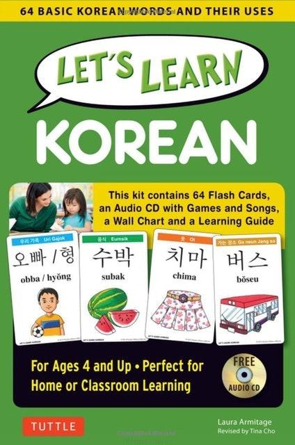 Tuttle Publishing Let's Learn Korean Kit 1