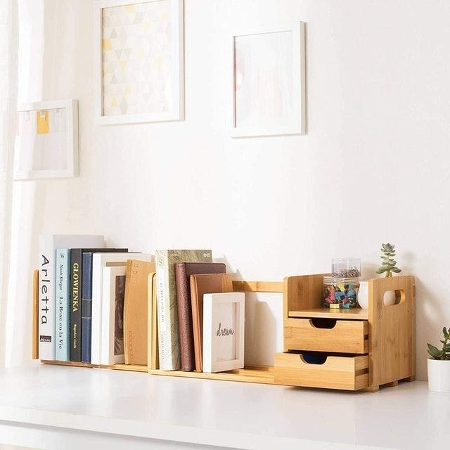 Ollieroo Desk Organizer With Extendable Storage 1