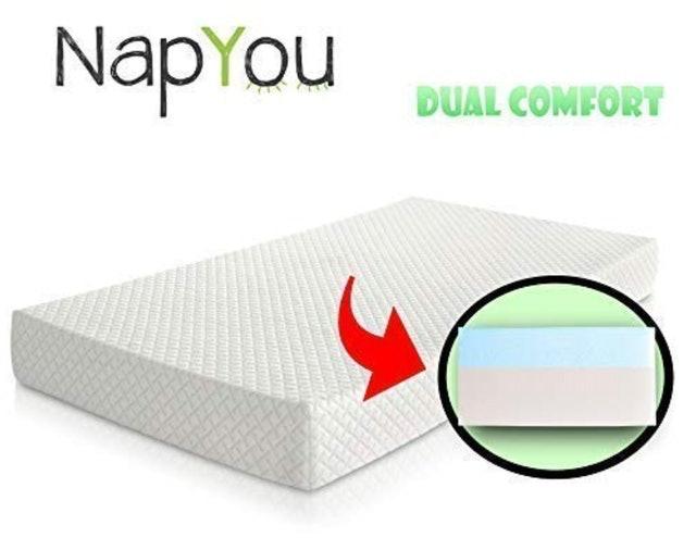 NapYou Dual Comfort Crib Mattress 1