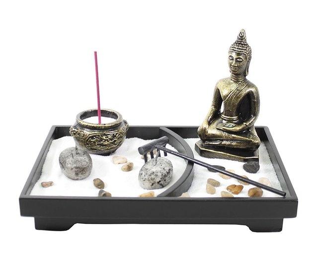 We pay your sales tax Tabletop Zen Garden Home Decor Gift 1