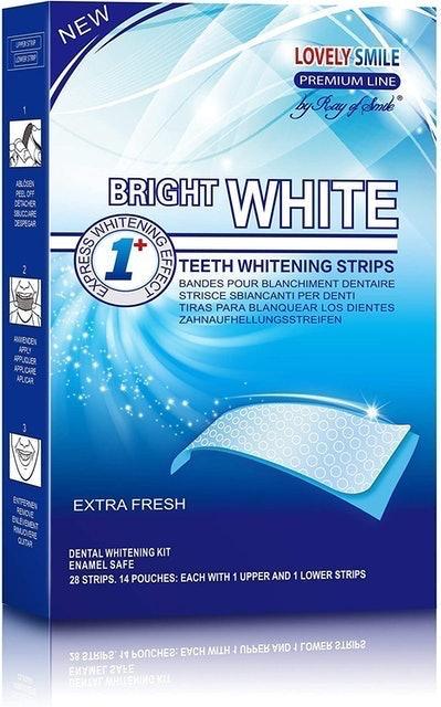 Ray of Smile Bright White Teeth Whitening Strips  1