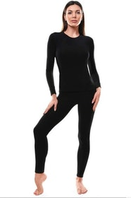 Top 10 Best Thermal Underwear Sets for Women in 2021 (Amazon Essentials, Rocky, and More) 3