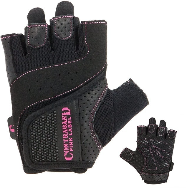 Contraband Pink Label Womens Padded Weight Lifting Gloves 1