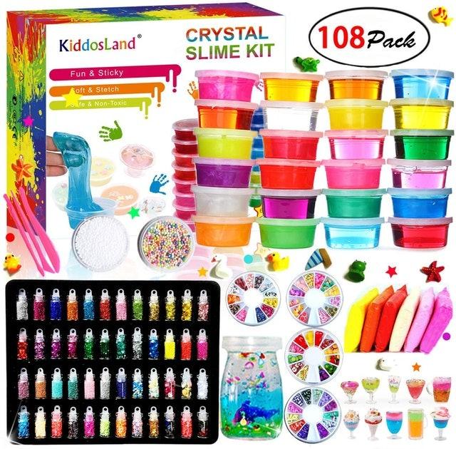 Kiddosland  Crystal Slime Kit 1