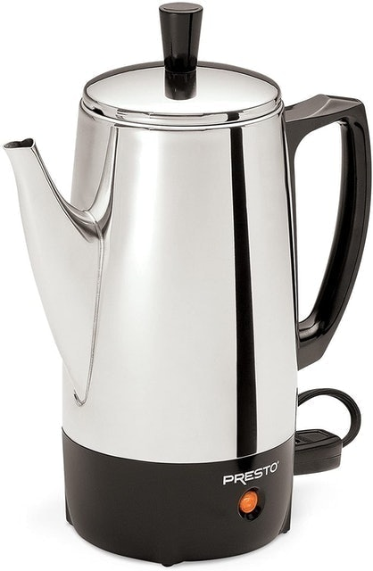 Presto 6-Cup Stainless Steel Coffee Percolator 1