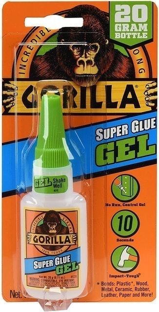 Gorilla  Super Glue Gel 1