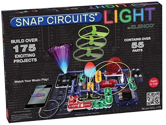 Snap Circuits LIGHT Electronics Exploration Kit 1