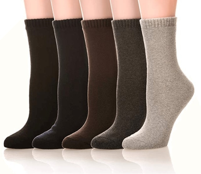 SDBING Women's Warm Cotton Socks 1