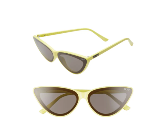 Quay Australia Flex 47mm Cat Eye Sunglasses 1