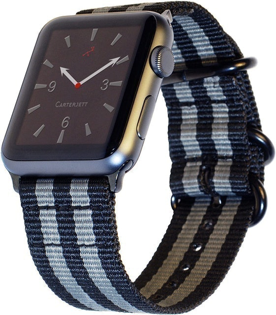 Carterjett Compatible with Apple Watch Nylon Band 1