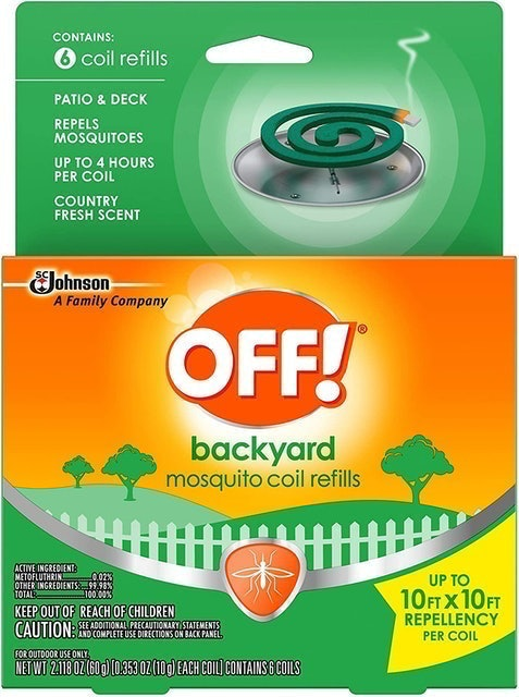 OFF! Mosquito Coil Refills  1