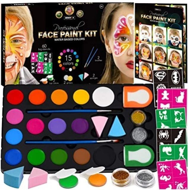 Zenovika Face Paint Kit 1