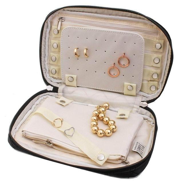 Ellis James Designs Quilted Travel Jewelry Organizer 1