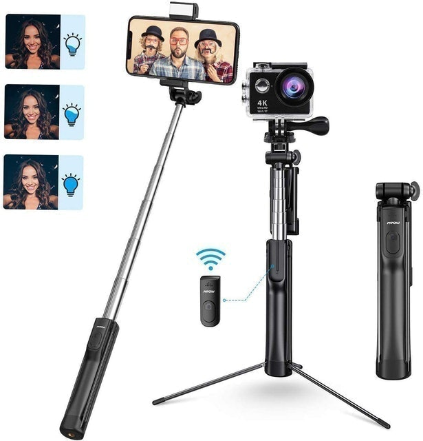 Mpow  All-in-1 Portable Extendable Selfie Stick 1
