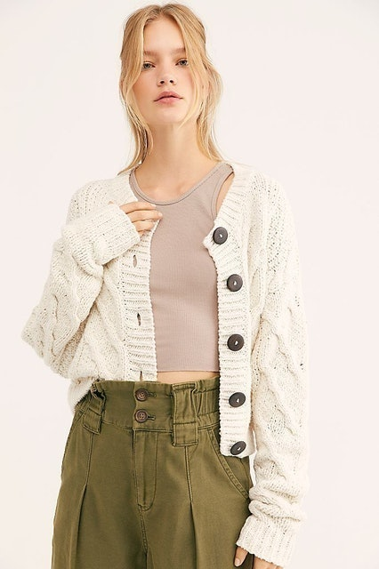 Free People Bonfire Cardi 1