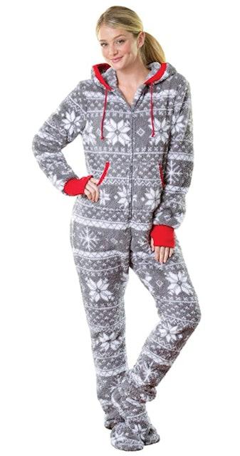 PajamaGram Hoodie-Footie One Piece Pajamas 1