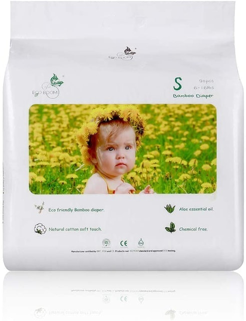 Eco Boom  Baby Bamboo Biodegradable Diapers 1