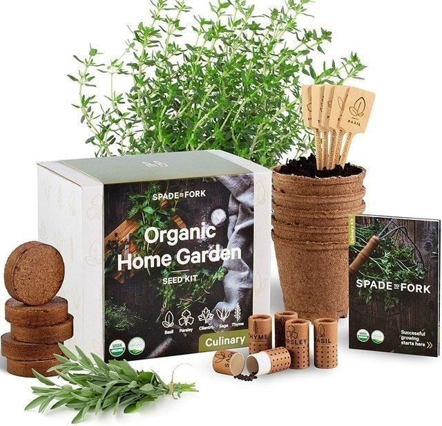 Spade to Fork Organic Home Garden Seed Kit 1