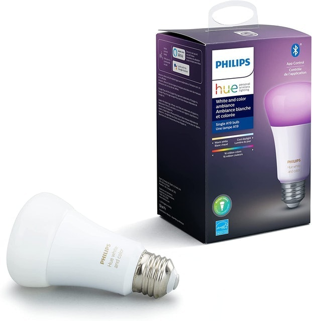 Phillips White and Color Ambiance Smart Lightbulb 1