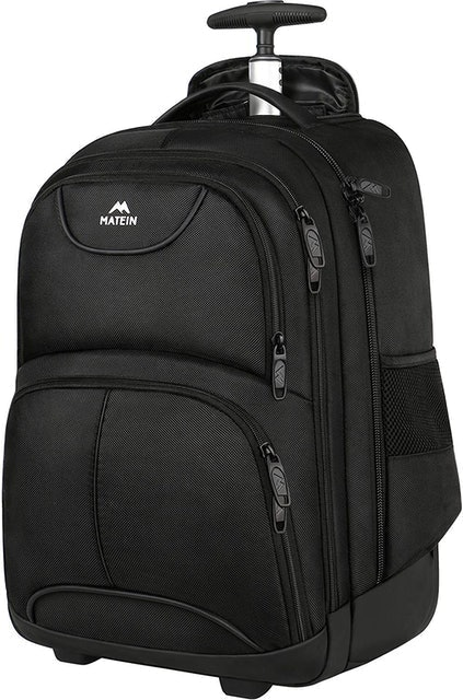 Matein Rolling Backpack 1