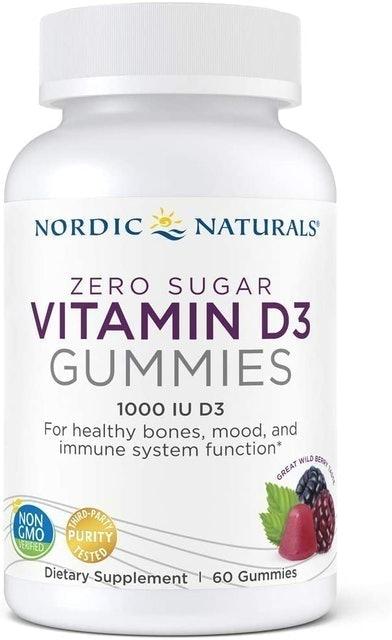 Nordic Naturals Zero Sugar Vitamin D3 Gummies 1