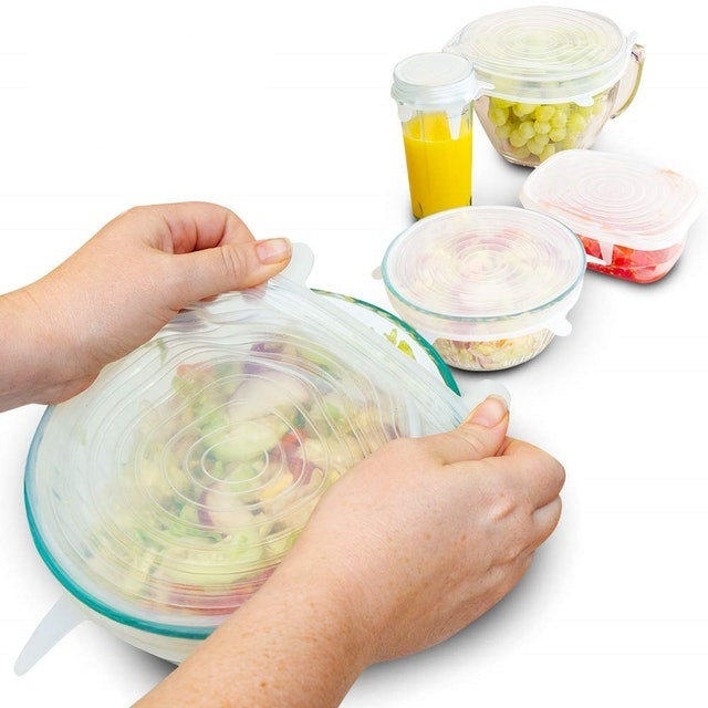 Eco Lifestyle Stretchable Silicone Lids 1