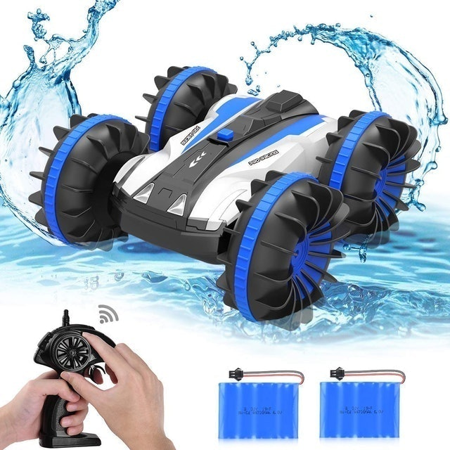 allcaca Waterproof RC Car Boat 1
