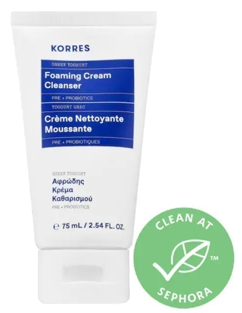 Korres Greek Yoghurt Foaming Cream Cleanser 1