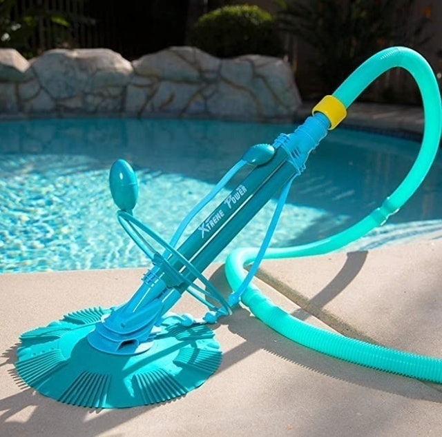 XtremepowerUS  Climb Wall Pool Cleaner 1