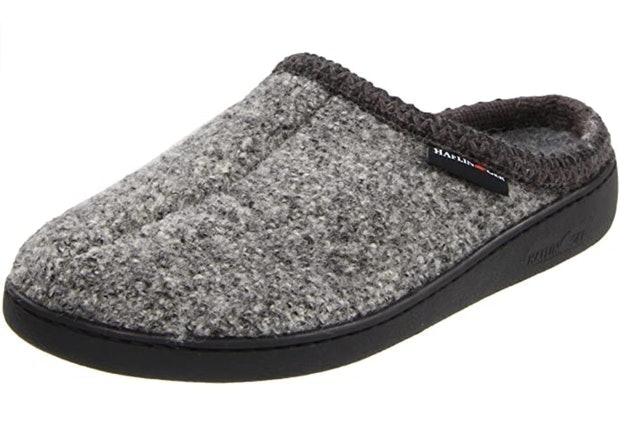 Haflinger Unisex Wool Hard Sole Slippers 1