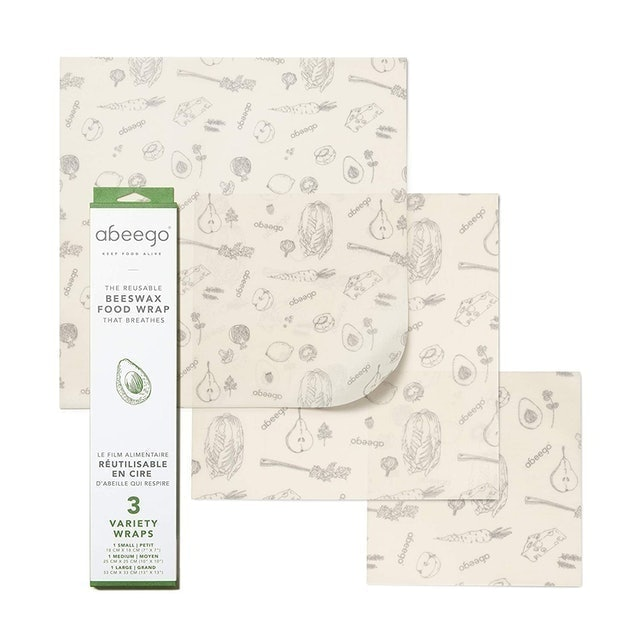 abeego The Reusable Beeswax Food Wrap  1