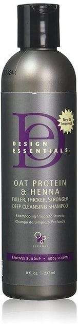 Design Essentials Oat Protein and Henna Deep Cleansing Shampoo 1