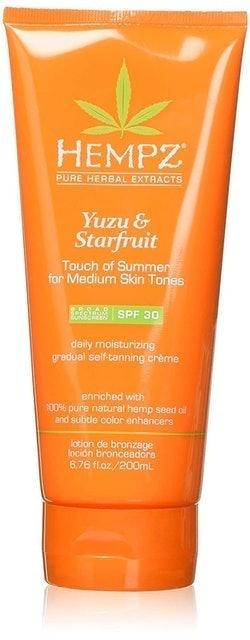Hempz  Yuzu & Starfruit Gradual Self-Tanning Creme 1