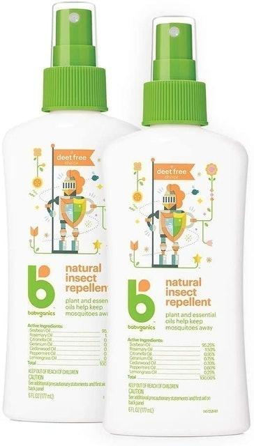 Babyganics  Natural Insect Repellent 1