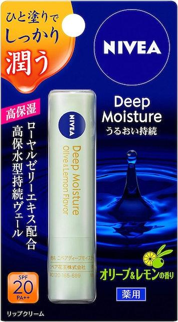 Rohto Mentholatum Deep Moist Lip Balm Kao Nivea Deep Moisture Lip 1