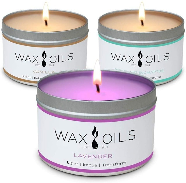 Wax and Oils Soy Wax Aromatherapy Scented Candles 1