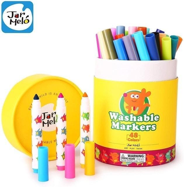 Jar Melo Washable Markers Set for Kids 1