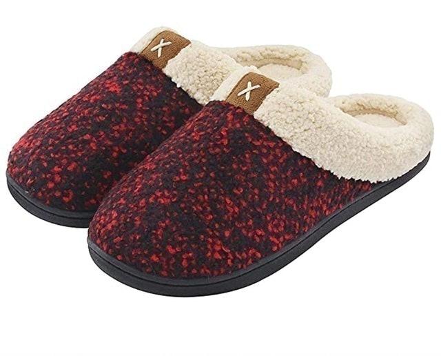 ULTRAIDEAS Memory Foam Slippers 1