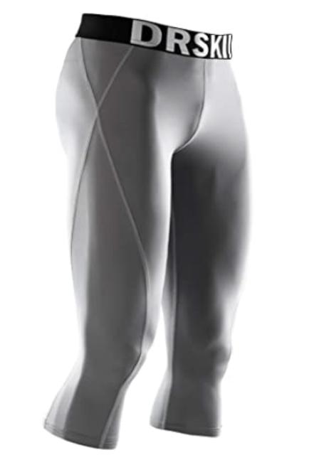 DRSKIN Men's 3/4 Compression Pants 1