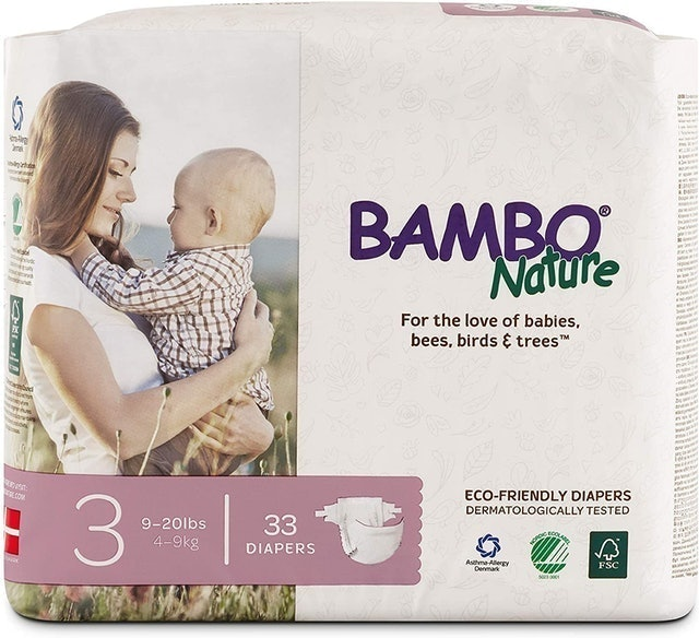 Bambo Nature  Eco-Friendly Diapers  1