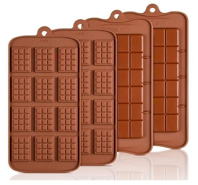 Caketime Silicone Break Apart Chocolate Molds 1