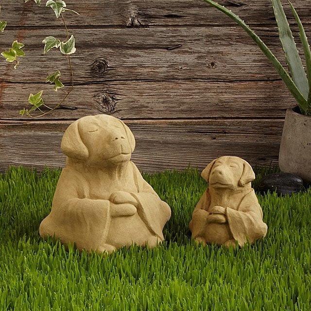 Gifts for Dog Lovers Michael Gentilucci Zen Dog Garden Sculpture 1