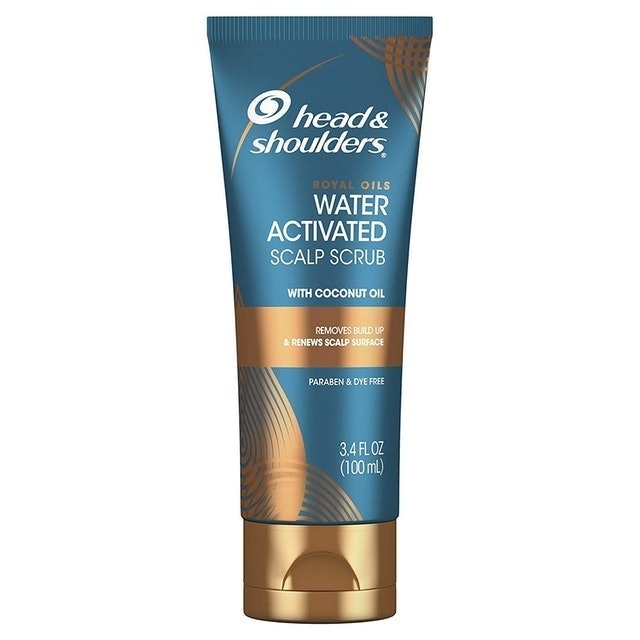Head & Shoulders  Royal Oils Water Activated Scalp Scrub 1
