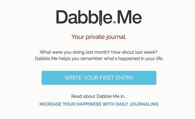 Dabble.Me Private Journal 1