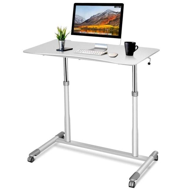 Tangkula Standing Computer Desk 1