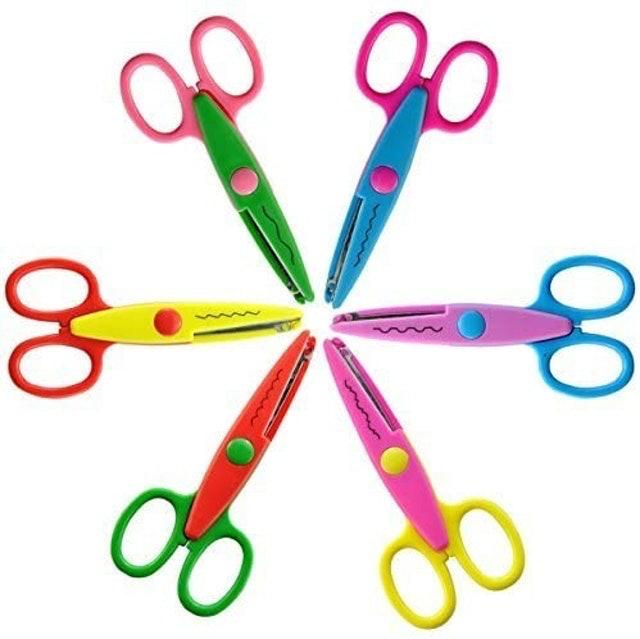 UCEC Decorative Paper Edge Scissor Set 1