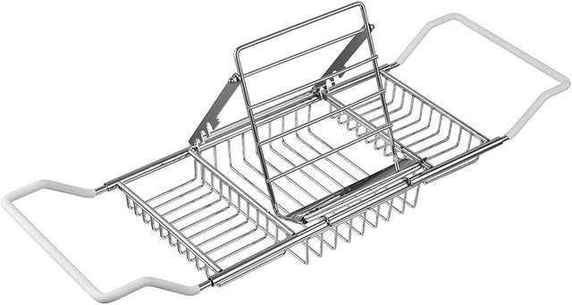 FBasics Stainless Steel Bathtub Tray  1